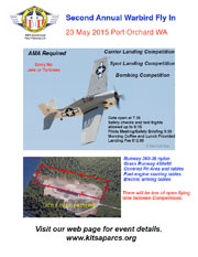 Warbirds Fly-In Poster